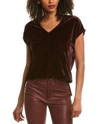 Donna Karan Velvet Tunic - Multicolour