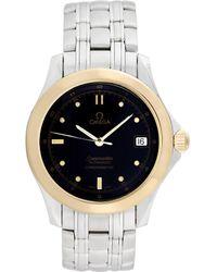 Omega Omega 1980s Men's Seamaster Watch - Metallic