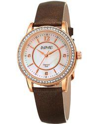 August Steiner - Women's Marquess Diamond Watch - Lyst