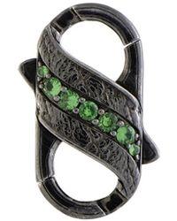 Stephen Webster Silver & Rhodium 0.77 Ct. Tw. Gemstone Clasp - Metallic
