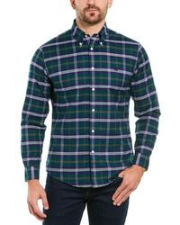 Brooks Brothers 1818 Regent Fit Woven Shirt - Green