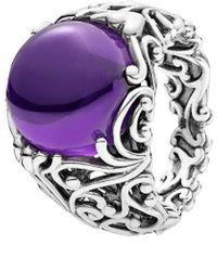 PANDORA Silver Cz Regal Dazzling Beauty Ring - Multicolour