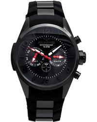 Aquaswiss Unisex Trax 5h Watch - Black