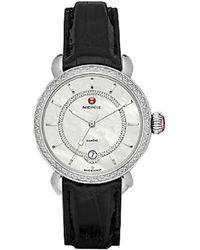 Michele Women's Csx Elegance Diamond Watch - Metallic