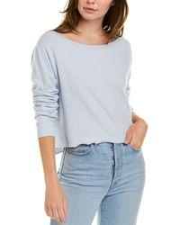 Wildfox Tilda Crop Sweatshirt - Brown