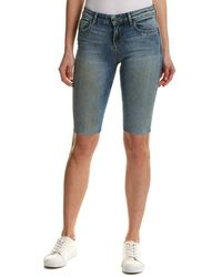 Alice + Olivia Jane Bermuda Short - Blue