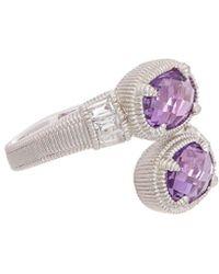 Judith Ripka - Silver 2.92 Ct. Tw. Gemstone Ring - Lyst