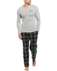 Lucky Brand 2pc Sleepwear Set - Gray