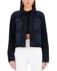 Cotton Citizen Boyfriend Jacket - Blue