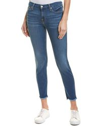 7 For All Mankind 7 For All Mankind Gwenevere Royal Ankle Cut - Blue