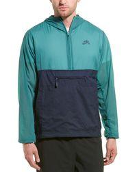 Nike Sb Anorak Jacket - Green