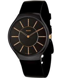 Rado Unisex True Thinline Diamond Watch