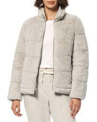 Marc New York Puffer Jacket - Grey