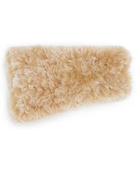 Saks Fifth Avenue Knitted Rabbit Fur Headband - Natural