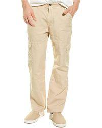 AG Jeans Travail Linen-blend Jean - Natural