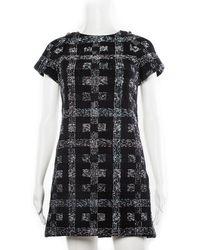 Chanel Fall 2017 Black Dress, Size Fr 34