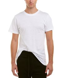 Lucky Brand 3pk Slim Fit Crew Neck T-shirts - White