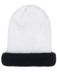 Eugenia Kim Heather Reversible Knit Hat - White