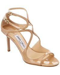 Jimmy Choo 'lang' Sandals - Natural