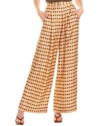 Ronny Kobo Rhonda Silk Pant - Orange