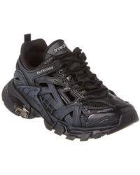 Balenciaga Track.2 Neoprene & Rubber Sneaker - Black
