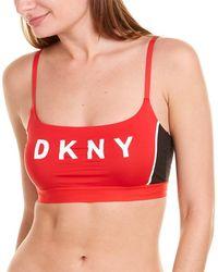 DKNY Scoop Bralette - Black