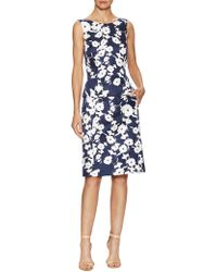 Oscar de la Renta - Sleeveless Top And Slim Skirt Set - Lyst