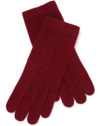 Portolano - Knit Cashmere Gloves - Lyst