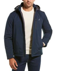 Nautica Hooded Jacket - Blue