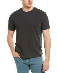James Perse Back Graphic T-shirt - Gray