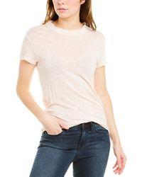 IRO Third Linen T-shirt - White