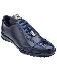 Belvedere Paulo Leather Sneaker - Blue