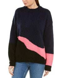 Zadig & Voltaire Tony Mohair & Wool-blend Sweater - Blue