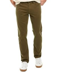 Brooks Brothers Stretch Green Slim Fit Pant