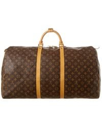Louis Vuitton Monogram Canvas Keepall 60 - Brown