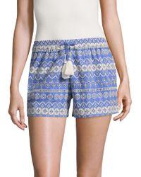 Love Sam - Stripe Shifli Embroidered Short - Lyst