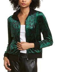 Pam & Gela Stripe Jacket - Green