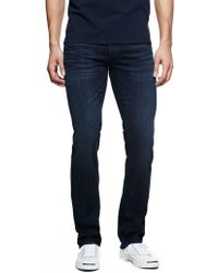 James Jeans Travis Straight Leg Jeans - Blue
