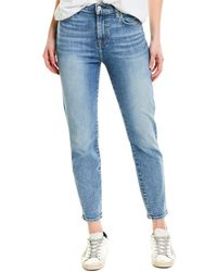 7 For All Mankind 7 For All Mankind Nli High-rise Slim Leg - Blue