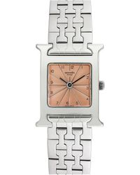 Hermès 2000s Women's H Watch - Multicolour