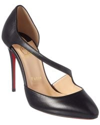 buy online b9eee a9382 Christian Louboutin Women's Jumping 85 Point Toe Patent ...
