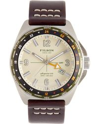 Filson - Journeyman Gmt Stainless Steel Watch, 50mm - Lyst
