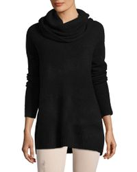 French Connection - Weekend Flossy Cowlneck Sweater - Lyst