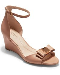 Cole Haan Tali Bow Wedge Sandal - Multicolor