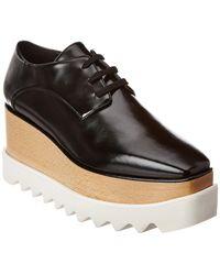 Stella McCartney Elyse Platform Derby Shoes - Black
