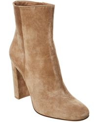 Gianvito Rossi Rolling High Suede Boot - Brown