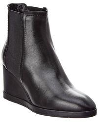 Aquatalia Jaelynn Waterproof Leather Bootie - Black