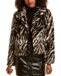 7 For All Mankind 7 For All Mankind Zebra Jacket - Black