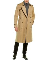 Burberry The Long Trench Coat - Natural