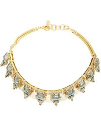 Elizabeth Cole - Sylvy Collar Necklace - Lyst